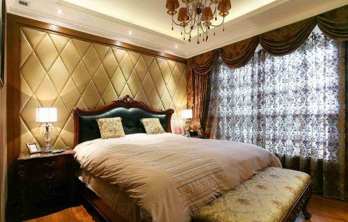 欧式古典卧室吊顶装修设计