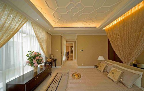 古典欧式风格卧室吊顶装潢设计