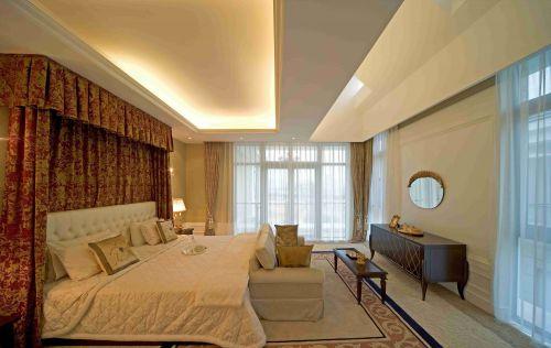 古典欧式风格卧室吊顶装修设计