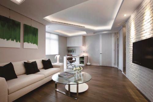 极致简约客厅吊顶灯具设计