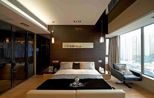 时尚简约风格卧室背景墙装饰设计