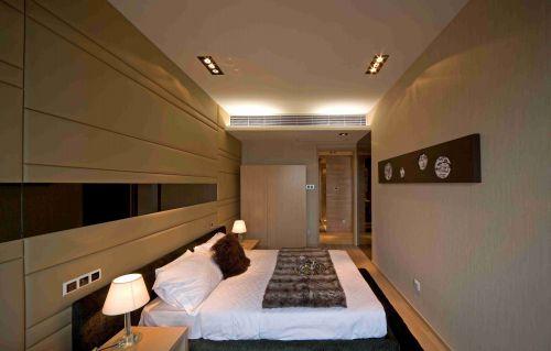 现代简约卧室软包背景墙设计