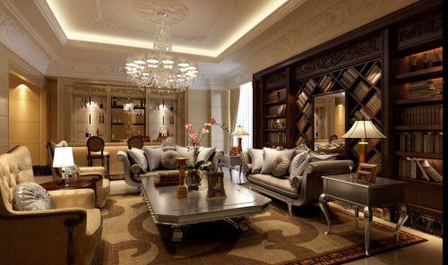 欧式古典风格客厅装修