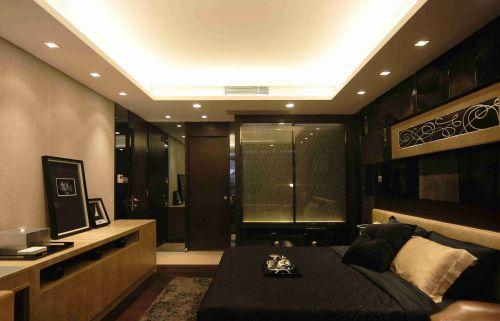 新古典卧室背景墙装潢设计图片