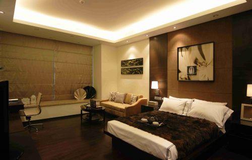 简约小户型公寓床头背景墙设计