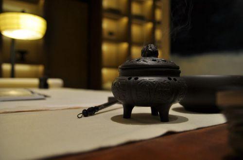 中式风格茶几效果图