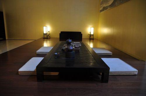 日式风格简约客厅效果图
