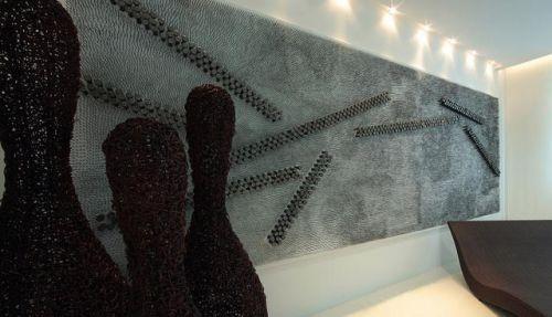 简约风格创意背景墙效果图