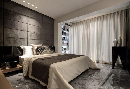 卧室装修图阳台书柜设计