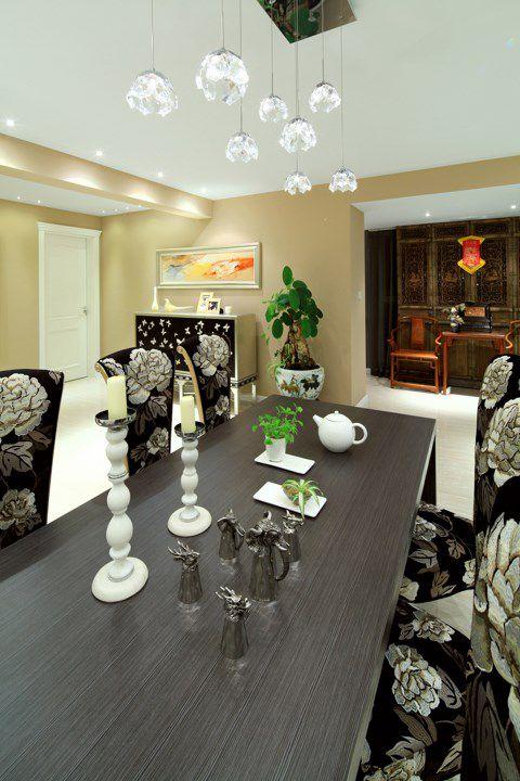 混搭风格餐厅餐桌设计