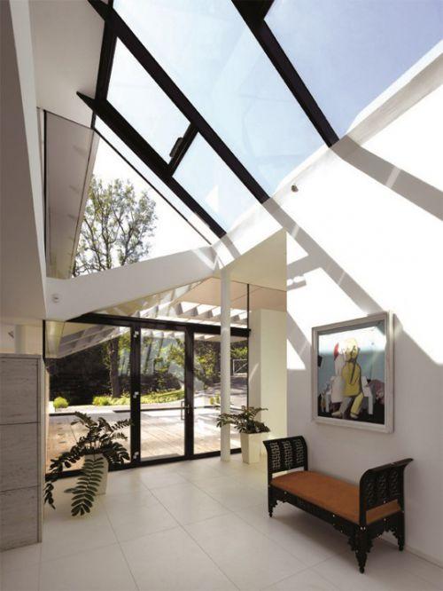 别墅样板房玻璃吊顶设计