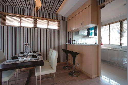 厨房餐厅隔断吧台设计