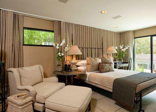 灰色的欧式卧室装修