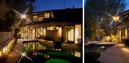 别墅花园游泳池设计