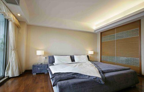 日式风格卧室装饰装潢效果图