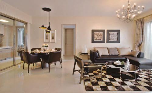 欧式古典风格装修客厅效果图