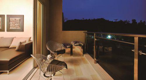 欧式公寓风格阳台装修设计