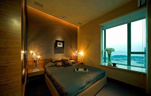 东南亚风格卧室飘窗装潢效果图