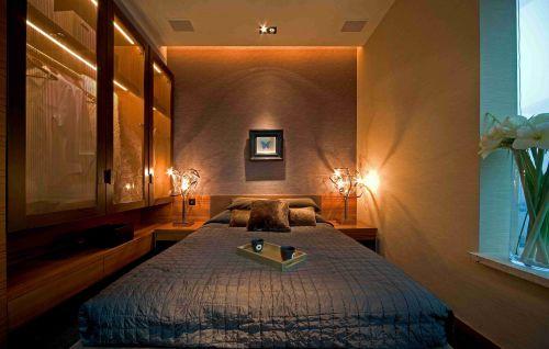 东南亚风格卧室灯饰装修效果图