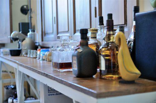 美式风格橱柜台面装饰