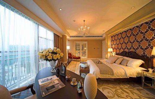 古典欧式别墅卧室豪华装修设计