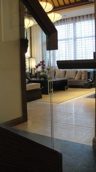 中式风格客厅一角装修