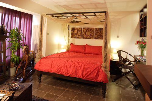 古典风格卧室床铺效果图