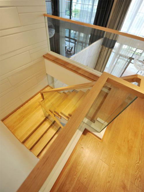 木质风格楼梯设计