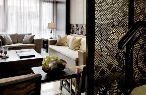中式风格客厅隔断装潢