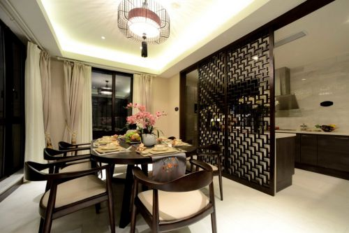 古典风格豪华餐厅装修案例