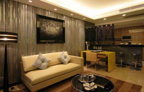 新古典客厅沙发背景墙装饰设计