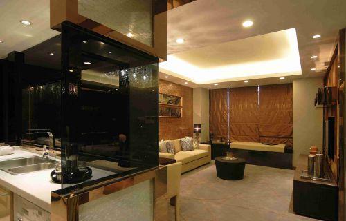 新古典风格客厅飘窗设计效果图