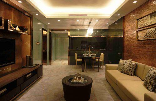 新古典风格客厅吊顶装饰效果图