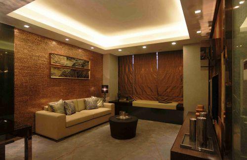 新古典风格客厅飘窗装饰设计效果图