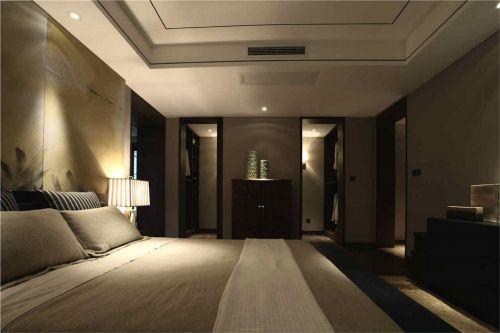 中式风格卧室储物柜效果图