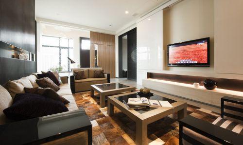 新古典装修风格客厅隔断设计