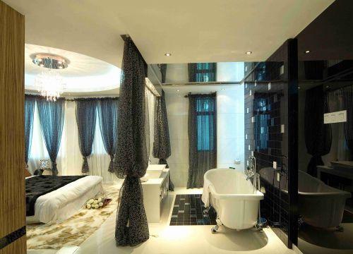 后现代风格主卧浴室装修效果图