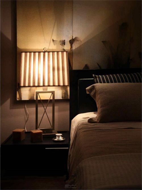 中式风格简约的床头柜设计