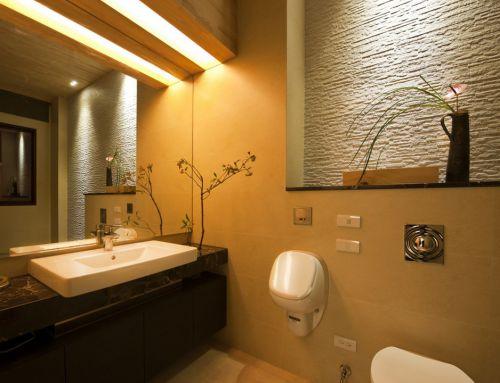 日式风格唯美卫生间设计
