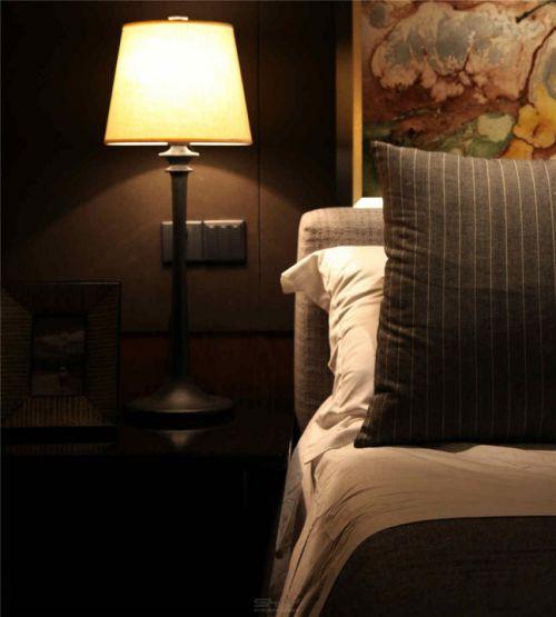 中式风格床头灯效果图