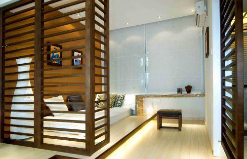 日式风格卧室地台装修设计效果图