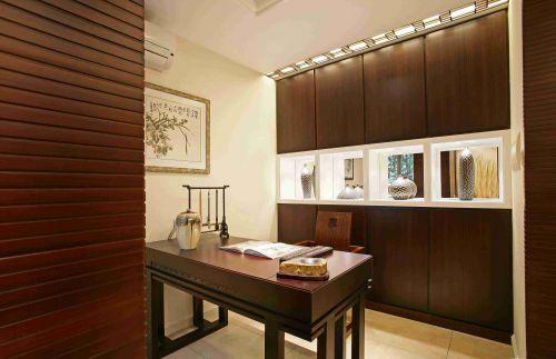 新中式风格书房装饰设计效果图