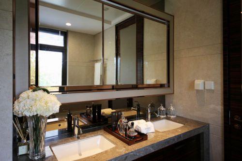 新古典风格卫生间装修洗手台设计