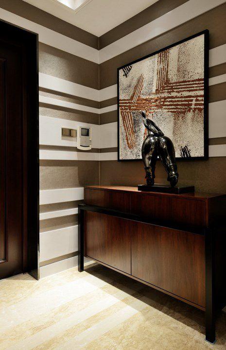 欧式古典玄关装饰设计图