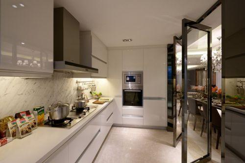 简欧风格厨房整体橱柜效果图