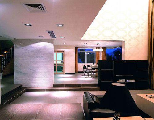 后现代风格客厅吊顶装饰设计图