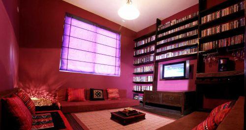 日式风格客厅收纳装修设计