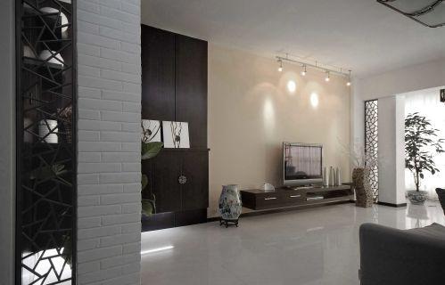 时尚简约风格客厅电视背景墙图片