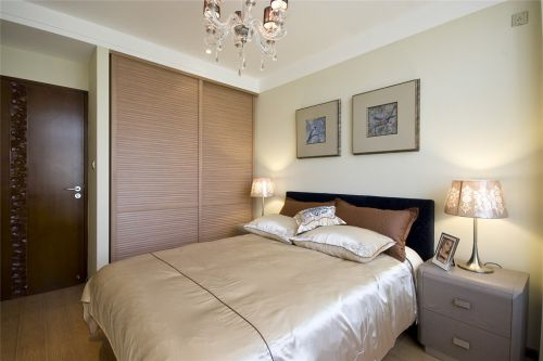 新中式风格简约的卧室装修