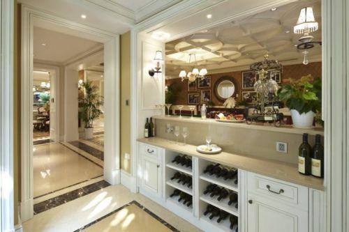 美式风格酒柜设计图